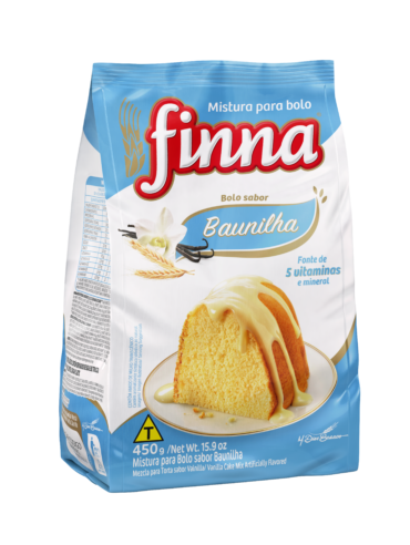 Finna Vanilla, Traditional Cake Mix – 450g