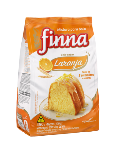 Finna Traditional Cake Mix, Orange – 450g