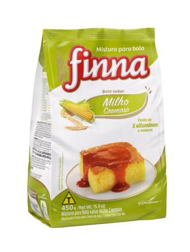 Finna Traditional Cake Mix, Creamy Corn – 450g