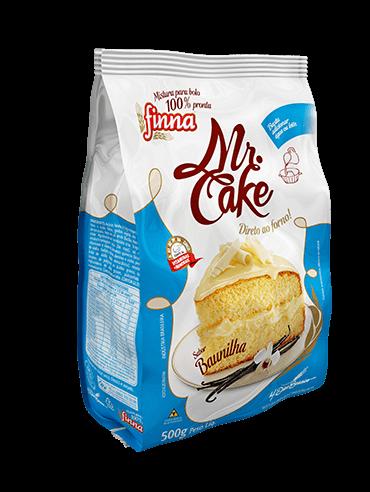 Finna Mr. Cake Baunilha - 500g